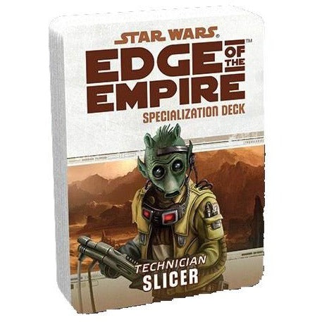 Star Wars RPG: Edge of the Empire Slicer Specialization Deck