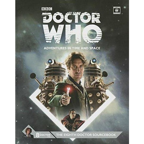 Doctor Who RPG: The Eighth Doctor Sourcebook Hardcover