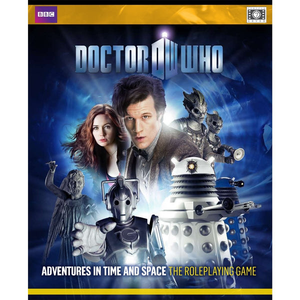 Doctor Who RPG: Adventures in Time and Space 11th Doctor Edition