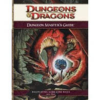 Dungeons and Dragons RPG: Dungeon Masters Guide 4E Hardcover