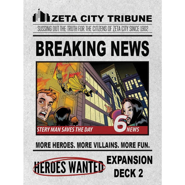 Heroes Wanted: Breaking News Expansion