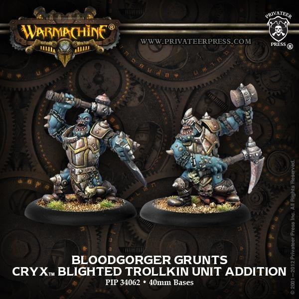 Warmachine: Cryx Bloodgorgers Blighted Trollkin Unit (2)