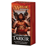 Magic the Gathering CCG: Khans of Tarkir Event Deck Display (6)