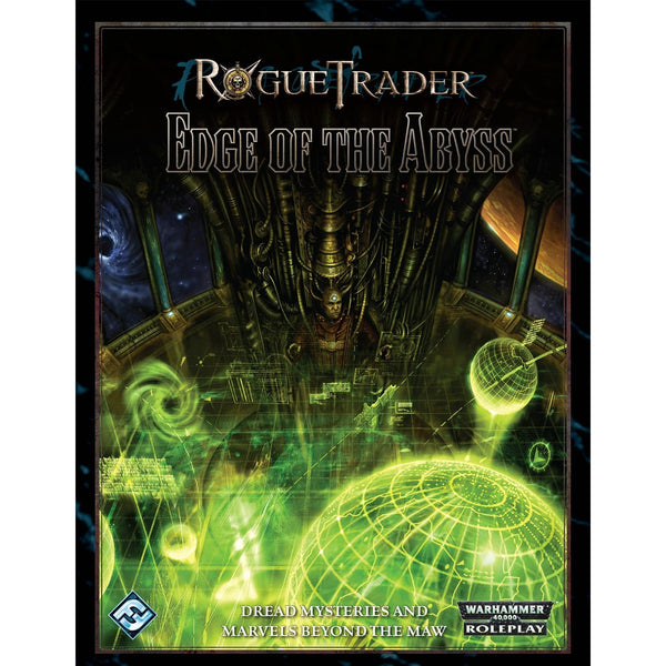 Rogue Trader Warhammer 40K RPG: Edge of the Abyss Hardcover