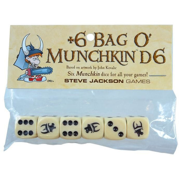 Bag O Munchkins: D6 Dice