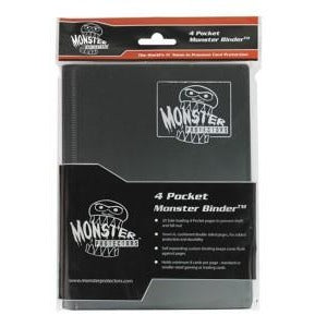 Binder: 4pkt Monster Matte Bk