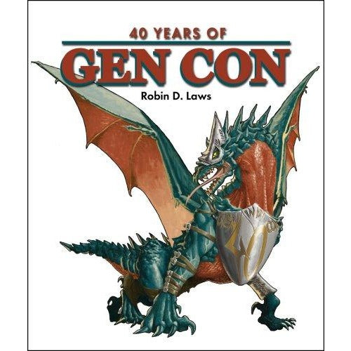 40 Years of Gen Con Hardcover