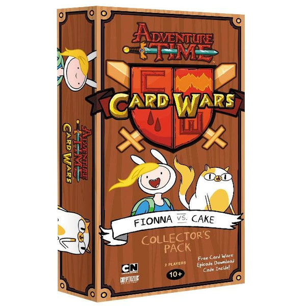 Adventure Time Card Wars: Fionna VS Cake Collector's Pack #6