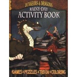 Dungeons and Dragons Rainy-Day Activity Book