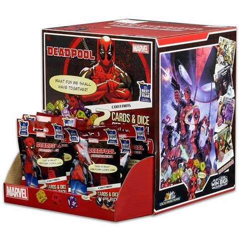 Marvel Dice Masters: Deadpool 90 Count Gravity Feed