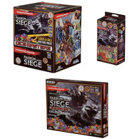 Dungeons and Dragons Dice Masters Bundle: Faerun Under Seige Starter Set / Collectors Box / Gravity Feed