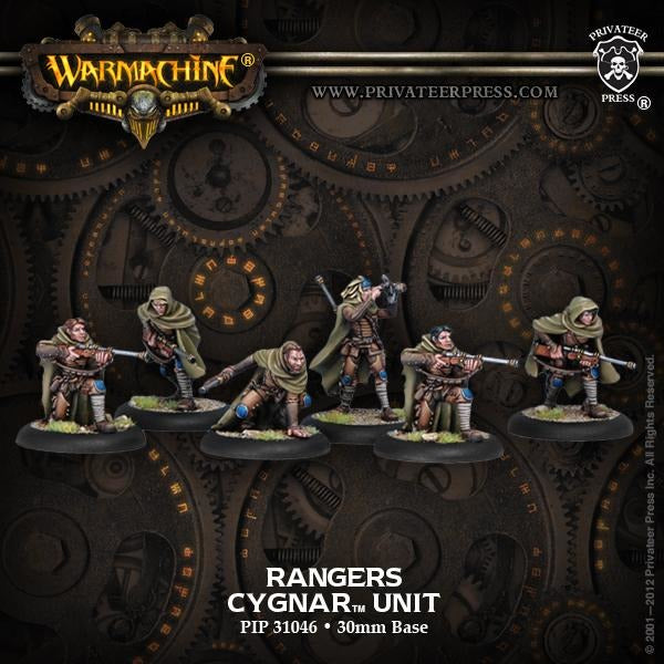 Warmachine: Cygnar Rangers Unit