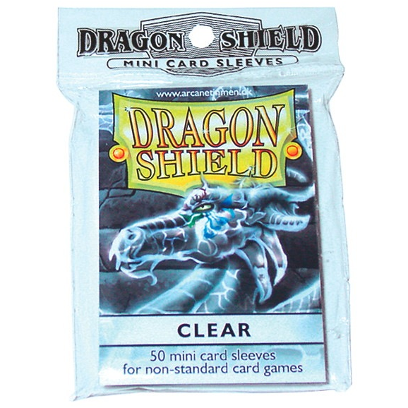 Dragon Shields Mini: (50) Clear
