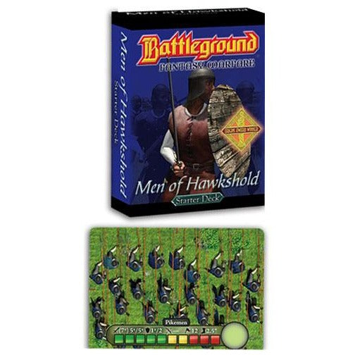 Battleground Fantasy Warfare: Men of Hawkshold Army Starter