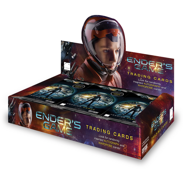Ender's Game Trading Cards Display