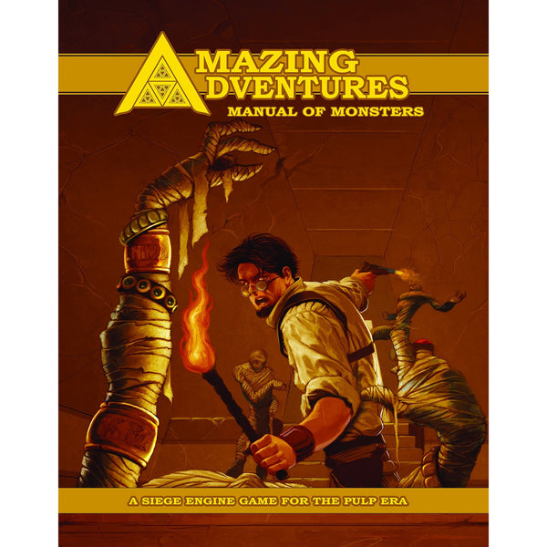 Amazing Adventures RPG: Manual of Monsters Hardcover
