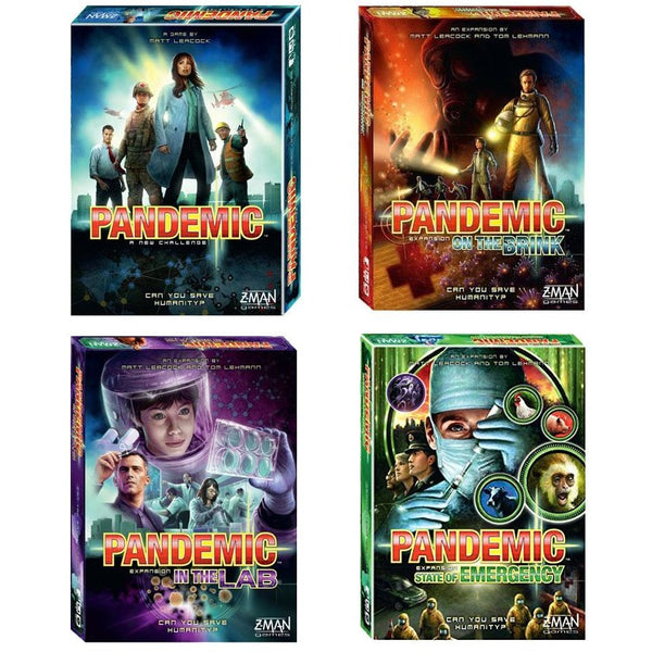 Pandemic Bundle: Core Plus On The Brink / In The Lab / State of Emergency Expansions