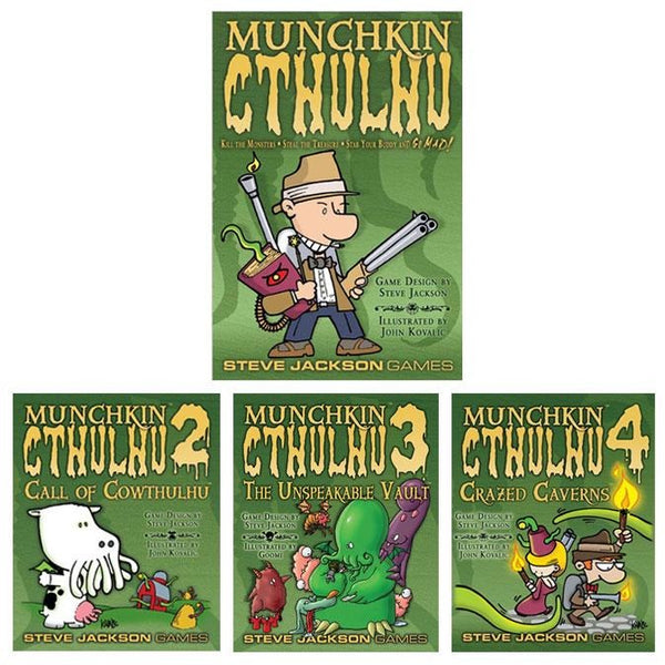Munchkin Cthulhu Bundle: Core Plus Expansions 2 to 4