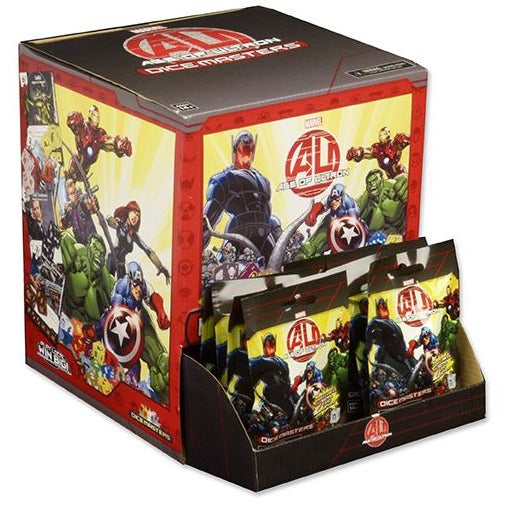Marvel Dice Masters: Age of Ultron Dice Building Game 90 Count Gravity Feed Display