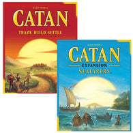 Catan Bundle: Core Plus Seafarers Expansion
