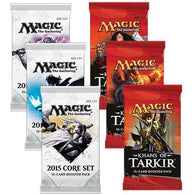 Magic the Gathering Bundle: 3 X Khans of Tarkir and 3 X 2015 Core Set Booster Packs