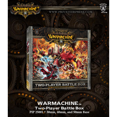 Warmachine: Two-Player Battle Box (Plastic)