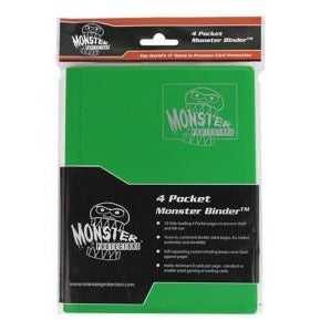 Binder: 4pkt Monster Matte Emerald Gn