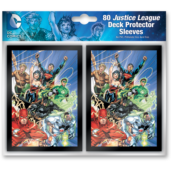 DC Comics: Deck Building Game Sleeve Pack Justice League