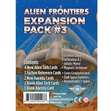 Alien Frontiers Expansion Pack #3 G
