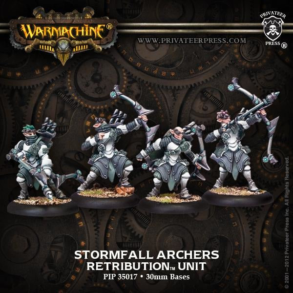Warmachine: Retribution of Scyrah Stormfall Archers Unit