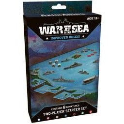 Axis and Allies Naval CMG: War At Sea 2-Player Starter Set Revised