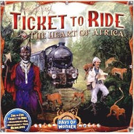 Ticket To Ride: Map Collection Volume 3 The Heart of Africa