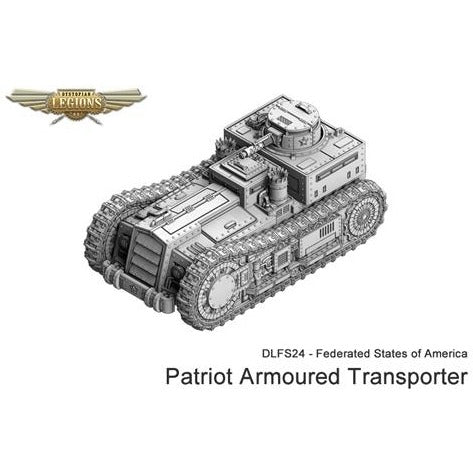 Dystopian Legions: Federated States of America Patriot Armoured Carrier (1)