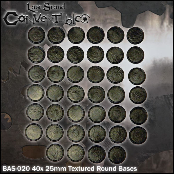 25mm Round Bases (40)