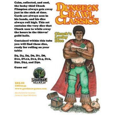 Dungeon Crawl Classics: Chuck's Lucky Dice