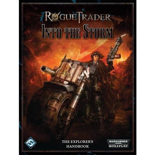 Rogue Trader Warhammer 40K RPG: Into the Storm Hardcover