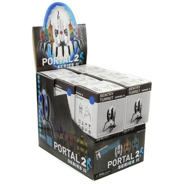 Portal 2: Sentry Turret Series II Collectible Figures Display (12)