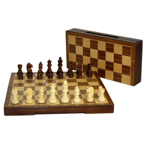 Chess Set: 12 Inch Folding