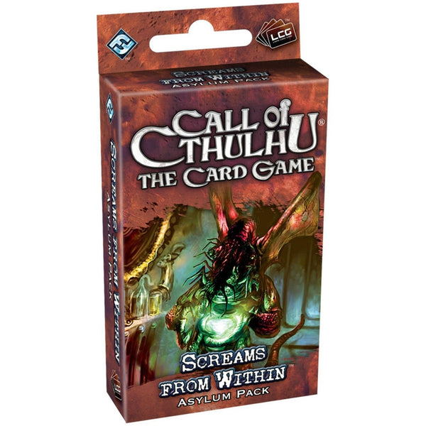 Call of Cthulhu LCG: Screams From Within Asylum Pack