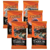 Magic the Gathering Bundle: 6 X Dragons of Tarkir Booster Packs