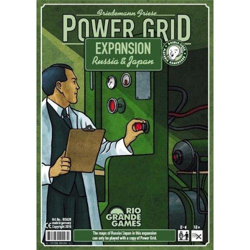 Power Grid: Russia / Japan Expansion