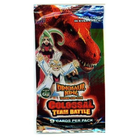 Dinosaur King TCG: Series 2 - Colossal Team Battle Booster Pack