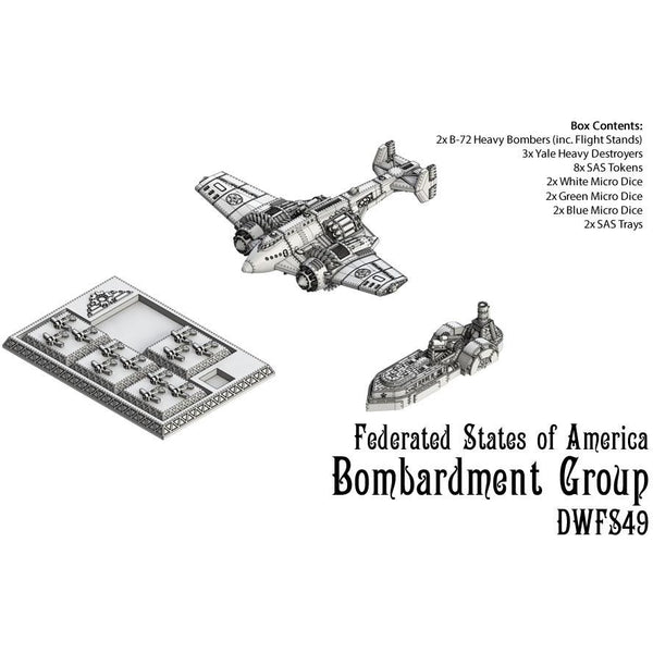Dystopian Wars: Federated States of America Bombardment Group