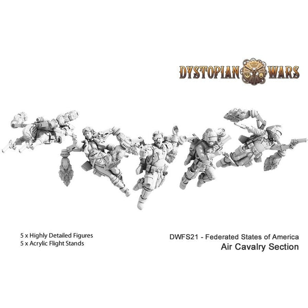Dystopian Legions: Federated States of America Air Cavalry Section