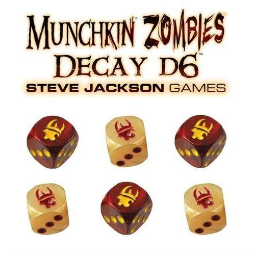 Munchkin Zombies: Decay D6 Dice
