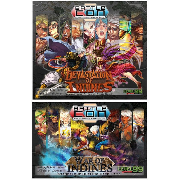 BattleCON Bundle: War of Indines 2nd Ed and Devastion of Indines