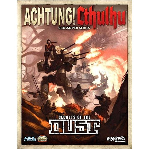 Achtung! Cthulhu RPG: Secrets of the Dust