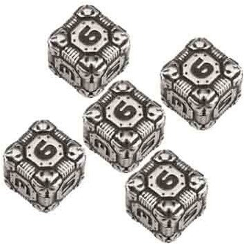 Tech Metal Dice Set D6 (5)