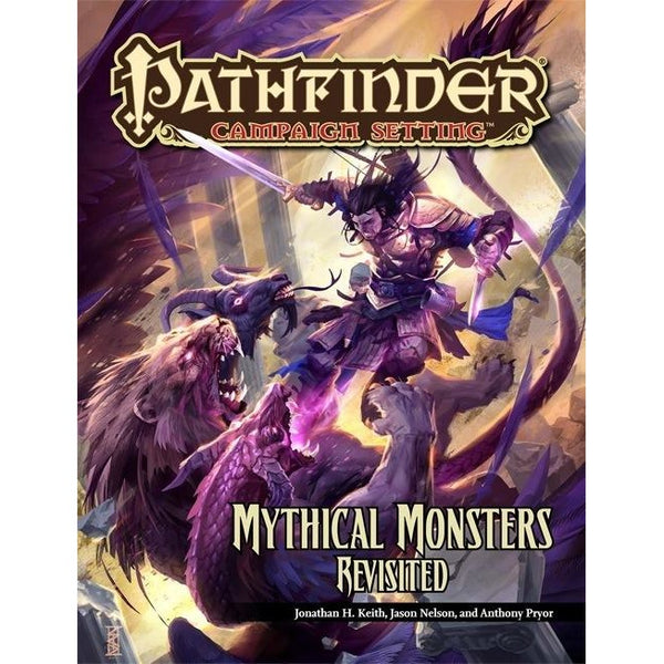 Pathfinder Campaign Setting: Myth Monsters Revisited