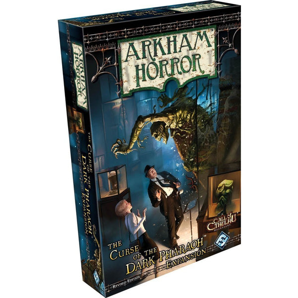 Arkham Horror: Curse of the Pharaoh Revised Expansion